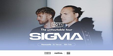 """Yoti presents Sigma: """"The Untoutable Tour"""" - Newcastle tickets"""