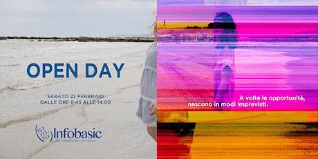 Open Day 22 Febbraio biglietti