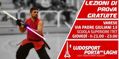 Spade Laser a Varese! - Prova la Scherma del Futuro biglietti