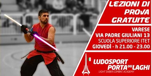Spade Laser a Varese! - Prova la Scherma del Futuro