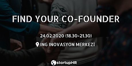 Find Your Co-Founder İstanbul #12 – StartupHR tickets