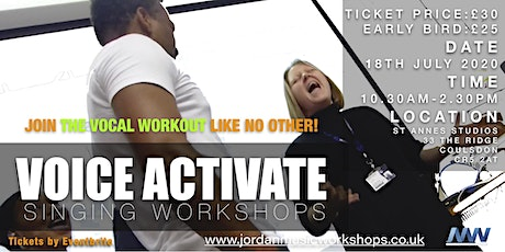 VOICE ACTIVATE - THE VOCAL WORKOUT tickets
