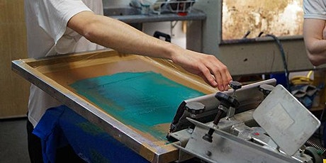 SCREENPRINTING WORKSHOP entradas