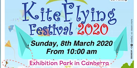 Kite Flying Festival 2020 @Canberra on Sunday 8th March 2020 tickets
