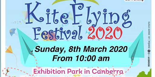 Kite Flying Festival 2020 @Canberra on Sunday 8th March 2020