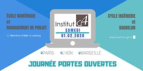 Journée Portes Ouvertes à L'Institut G4 à Paris billets