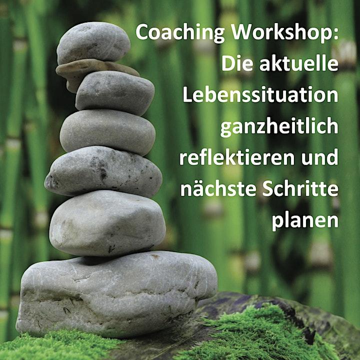 Coaching Workshop: Lebenssituation reflektieren und nächste Schritte planen: Bild