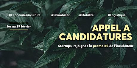 [Ville Durable] Réunions d'informations Appel à Candidatures Promo #5 tickets
