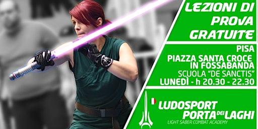 Spade Laser a Pisa! - Prova la Scherma del Futuro