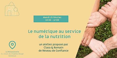 Le numérique au service de la nutrition billets
