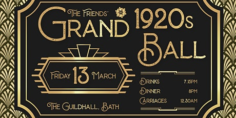 The Friends' Grand 1920's Ball tickets