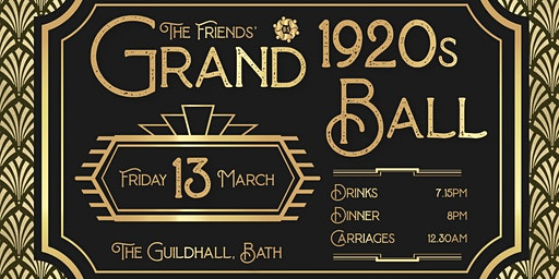 The Friends' Grand 1920's Ball