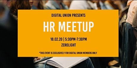 HR Meetup - Members Only tickets