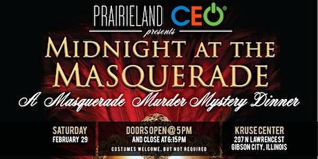 """Midnight at the Masquerade"" Murder Mystery Dinner tickets"
