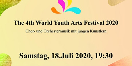 The 4th World Youth Arts Festival - The golden Hall Vienna Tickets