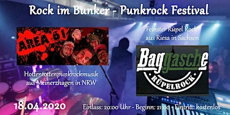 Rock im Bunker - Punkrock Festival Tickets