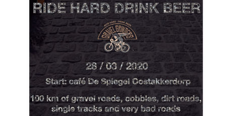 Ride Hard, Drink Beer Gravelride 2 tickets