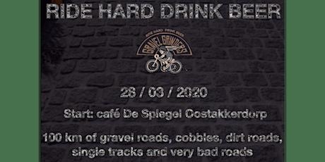 Ride Hard, Drink Beer Gravelride 2 tickets