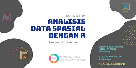 IDJN MEET-UP: Analisis Data Spasial dengan R tickets