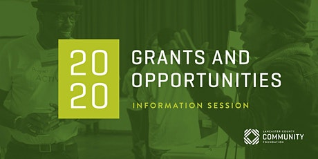 LancFound 2020 Grants & Opportunities! tickets