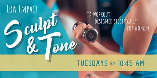 10:45 am Group 1 Sculpt and Tone