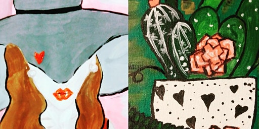 Single & Mingle Valentine's sip, paint and churros