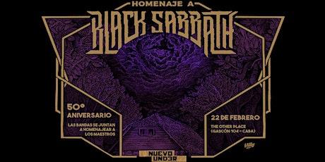 Black Sabbath - Homenaje 50° aniversario entradas