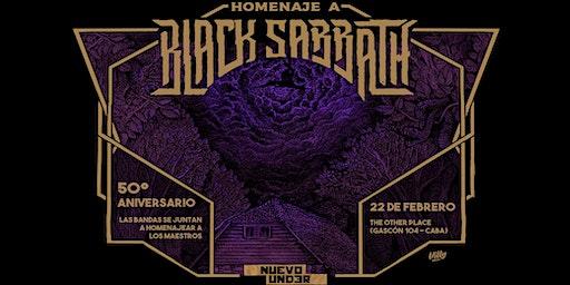Black Sabbath - Homenaje 50° aniversario