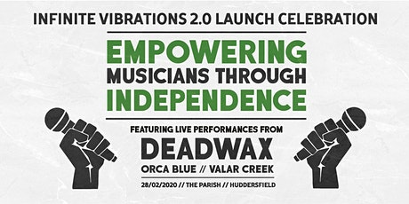 Infinite Vibrations 2.0 Launch Event tickets
