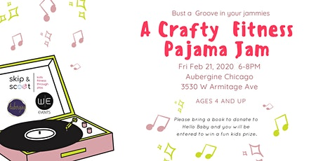 Crafty Fitness Pajama Jam tickets