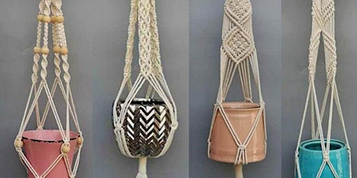 Macrame Plant Holders (adults)
