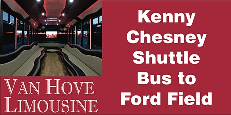 Kenny Chesney Shuttle Bus to Ford Field from O'Halloran's / Orleans Mt. Clemens tickets