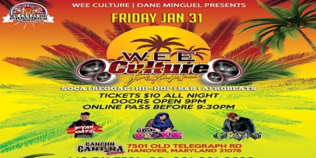 Wee Culture Fridays tickets