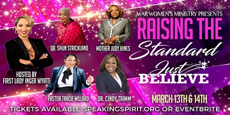 W.A.R. presents RTS (Raising The Standard) Women's Conference 2020! tickets
