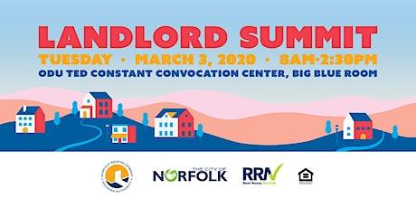 Landlord Summit tickets