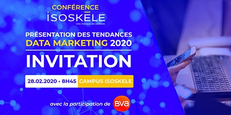 Tendances data marketing 2020 billets