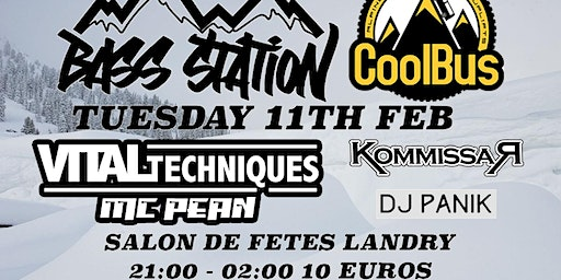 Bass Station X Cool Bus Present.... Vital Techniques + MC Pean