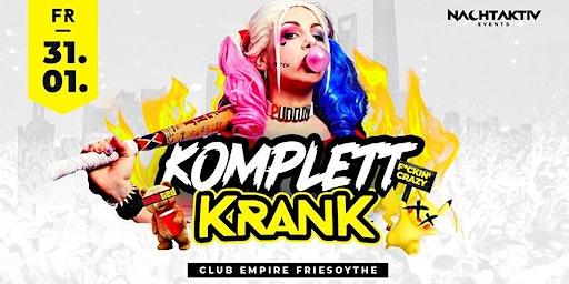 KOMPLETT KRANK! - die PRIVATPARTY! | 31.01.