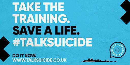 #TalkSuicide - Free Suicide Prevention Training