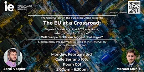 Observatory on the European Union: The EU at a Crossroad entradas