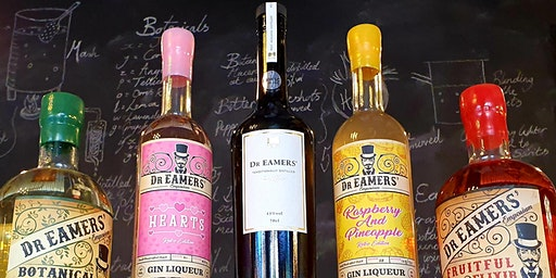Dr Eamers' Gin Tasting