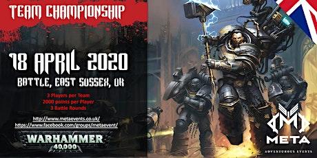 Meta Team Championship 2020 (MTC2020) tickets