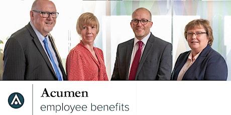 Acumen Employee Benefits Employer Event 2020 tickets