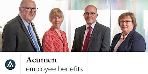 Acumen Employee Benefits Employer Event 2020