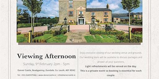 Wedding Venue Viewing 9th February Darver Castle