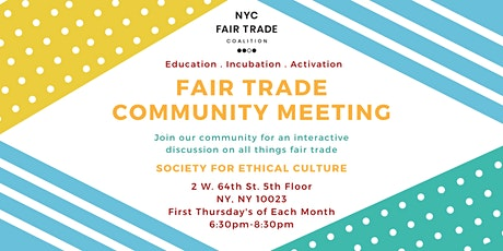 Fair Trade Community Meeting tickets
