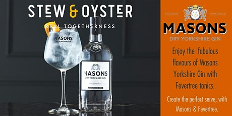 Gin Tasting Experience with Masons Gin tickets