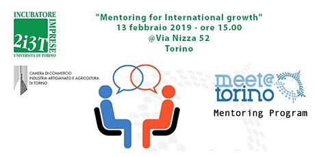 """Mentoring for International growth"" biglietti"