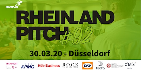 Rheinland-Pitch #92 in Düsseldorf Tickets