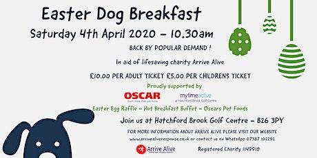 Easter Dog Breakfast tickets